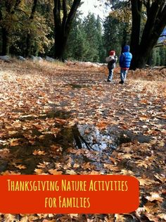 Thanksgiving Nature Activities for Families