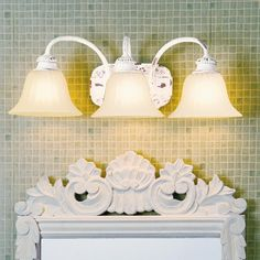 Vintage Bath Light, for the girls bath