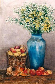 El florero azul