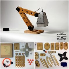 A Construction Desk Lamp Kit for the Big Kid inside all of us