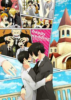 Luffy & Ace wedding