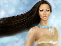 I got: Pocahontas ! Which Disney Princess Do You Look Like?