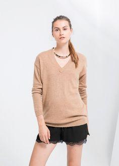 MANGO - Alpaca wool-blend sweater #FW14