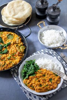 Ready In Less Than 25 Minutes, This Quick And Flavourful Red Lentil Dahl Is A Great Midweek Meal Or Alternative Homemade Curry. Veggie lover, Vegan and Gluten Free. An Easy And Tasty Dal Recipe Biryani, Vegan Indian Recipes, Vegetarian Recipes, Healthy Recipes, Daal Recipe Indian, Slow Cooker Vegetarian Curry, Vegetable Recipes, African Recipes, Red Lentil Dahl Recipe