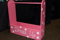 Dress up! I painted this but I didn't build it.
