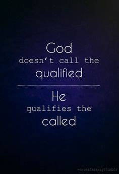 qualify the called