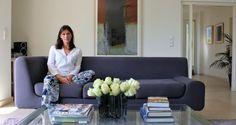 Interior designer Denise Ryan in her Luxembourg home