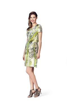Kleid MODEE Tropical print and colours