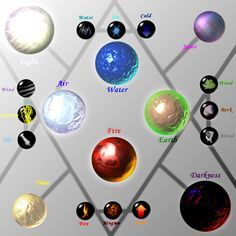 Ze Elements by Caneleb.deviantart.com on @deviantART