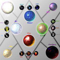 Ze Elements by Caneleb.deviantart.com on @deviantART