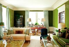 Tory Burch's living room in her apartment at The Pierre on the Upper East Side by Daniel Romualdez