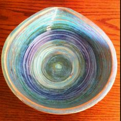 """sandi deLoge""""s work ...Pretty Pouring bowl!"""