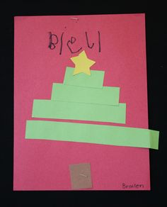 Pre-K students at Meeting Street Academy in Charleston, SC used their understanding of spatial relationships and shapes to create a Christmas tree.   MSA founder Ben Navarro champions educational opportunities for under-resourced families.  Elementary art education is a key component of his vision.  #MeetingStreetAcademy #Art #Education #SCSchools #BenNavarro #ShermanFinancialGroup