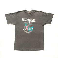 1987 Descendents 'All' Tour vintage band T-shirt  by Teejerker