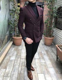 Blazer Outfits Men, Mens Fashion Blazer, Stylish Mens Outfits, Mens Casual Suits, Suit Fashion, Dress Suits For Men, Men Dress, Indian Wedding Suits Men, Traje Casual