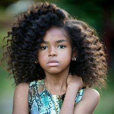 "beautiffulcurls: ""Not sure who this gorgeous little natural is, but she's stunning! Repost from @myhaircrush http://ift.tt/1GpLVBY "" UPDATE: Someone on FB identified this little beauty -..."