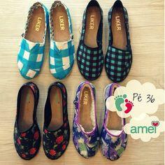 Pés nas nuvens☁️ 36 PROMO R$50,00 @loja_amei  #lojaamei #alpargatas #promoção