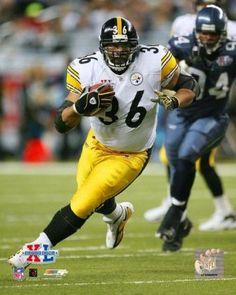 ab59b2f7ebb Super Bowl XL - Jerome Bettis / Vertical Action #3 Photo Print (20 x 24).  Steelers SignSteelers HelmetPittsburgh ...