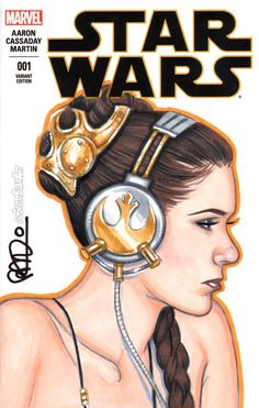 Star Wars // Slave Leia To The Beats // By: Scott Blair