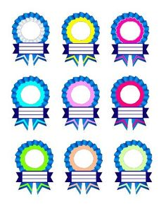 Ribbon Designs for Recognition Day Certificate Background, Kids Awards, Award Template, Certificate Design Template, School Frame, Award Certificates, Ribbon Design, School Decorations, Classroom Displays