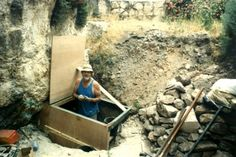 In 1981 Ron Wyatt excavates near the Golgotha escarpment; where Jesus was cruxified. In 1999, while on his deathbed Ron Wyatt gives a detailed account of the discovery of the Ark of the Covenant at the excavation site.