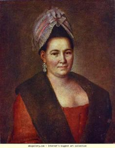 Aleksey Antropov. Portrait of an Unknown Woman. 1780s. Oil on canvas. Tomsk Regional Ethnical Museum, Tomsk, Russia
