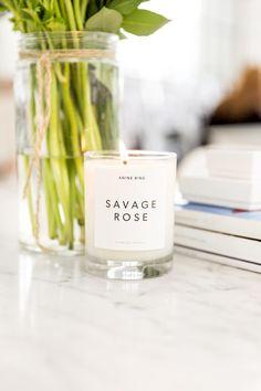 Savage Rose Candle