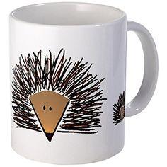 CafePress - Hedgehogs Mugs - Unique Coffee Mug, Coffee Cup, Tea Cup Coffee Cups, Tea Cups, Cuppa Tea, Unique Coffee Mugs, Tea Bowls, Dobby, Craft Fairs, Rock Art, Cute Drawings