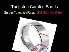 #tungstenrings named - Sniper Rings   http://www.slideshare.net/MadTungstenRingsUS/tungsten-rings-for-men?utm_source=pinterest&utm_medium=organic&utm_campaign=09092014