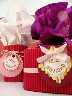 Christmas colorfull wrap