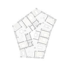 gigon guyer | Architecture | Collective Housing | Apartment | Floor plan