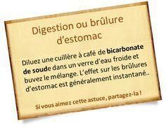 Bicarbonate : Vous avez des problèmes de digestion, des reflux gastrique ou des remontées acides ? Le bicarbonate de soude pourrait vous être bien utile.