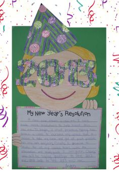 Happy New Year = craftivity from Lesson Plan Diva @ http://www.teacherspayteachers.com/Store/The-Lesson-Plan-Diva