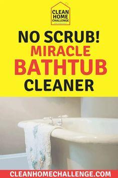 Miracle Bathtub Cleaner