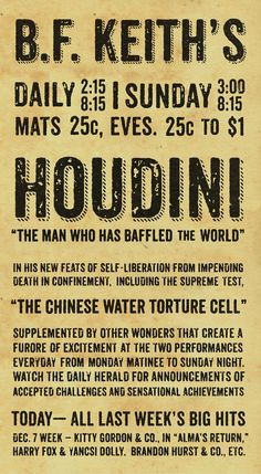 Keith's Broadside Poster by Keith Tatum Chinese Water Torture, Word Poster, Carnival Rides, Out Of My Mind, Creative Inspiration, The Magicians, The Man, Self, Words