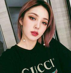 Pony park hye min make up ♥ ☆ Korean Makeup Look, Asian Makeup, Korean Beauty, Asian Beauty, Make Up Looks, Pony Makeup, Eye Makeup, Monolid Makeup, Beauty Make-up