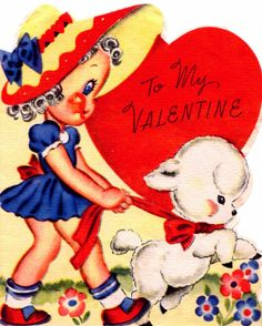 Two Crazy Crafters: Vintage Valentine
