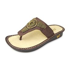 Alegria Womens Vanessa Bronze Hand Craft Sandals US885 ** This is an Amazon Affiliate link. Check this awesome product by going to the link at the image.