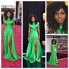 This looks like a crochet braid! #redcarpetworthy