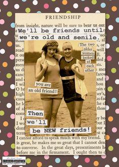Friendship Card - Classy People™ by Pine Ridge Art