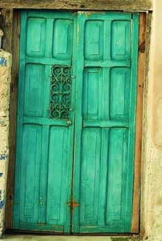 I love old doors. They are some of the most character-filled pieces of architecture out there.