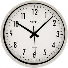 60e406ff30d Relógio de Parede Yins YI15092 Classico 31cm - Megazim Relógio De Parede