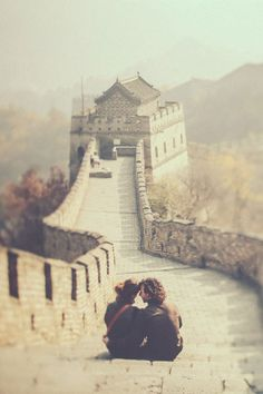 Just a perfect couple in China♥