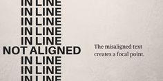 Breaking Alignment Graphic Design Principles