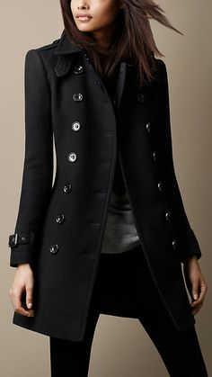 I just bought this Burberry trench coat!!!