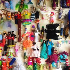 Small Acorns peg doll competition