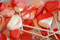 Dipping Valentine Treats - Fun treats to make with your kids (plus a little science mixed in!)