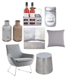 """#grey living #NC4you"" by claudiasauter on Polyvore featuring interior, interiors, interior design, Zuhause, home decor, interior decorating, Swedese, Benson-Cobb Studios, Rani Arabella und Dot & Bo"