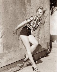 Martha Hyer    I love this outfit :)