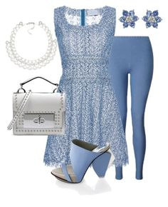 """""""Carolina"""" by achorns on Polyvore featuring Miss Selfridge, LUISA BECCARIA, Abcense, Marc Jacobs and Carolee"""